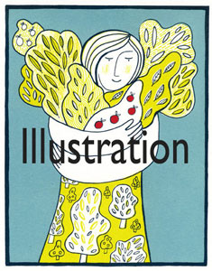 Illustration-button-with-title